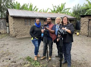 The Evidence Video crew at work in Kenya
